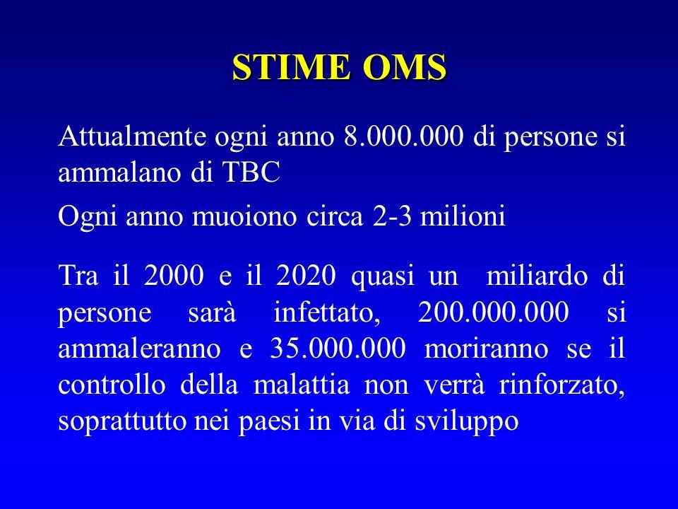 NOTIFICHE DI TB PER CLASSI DETÀ NEL 2001 IN LIGURIA P.