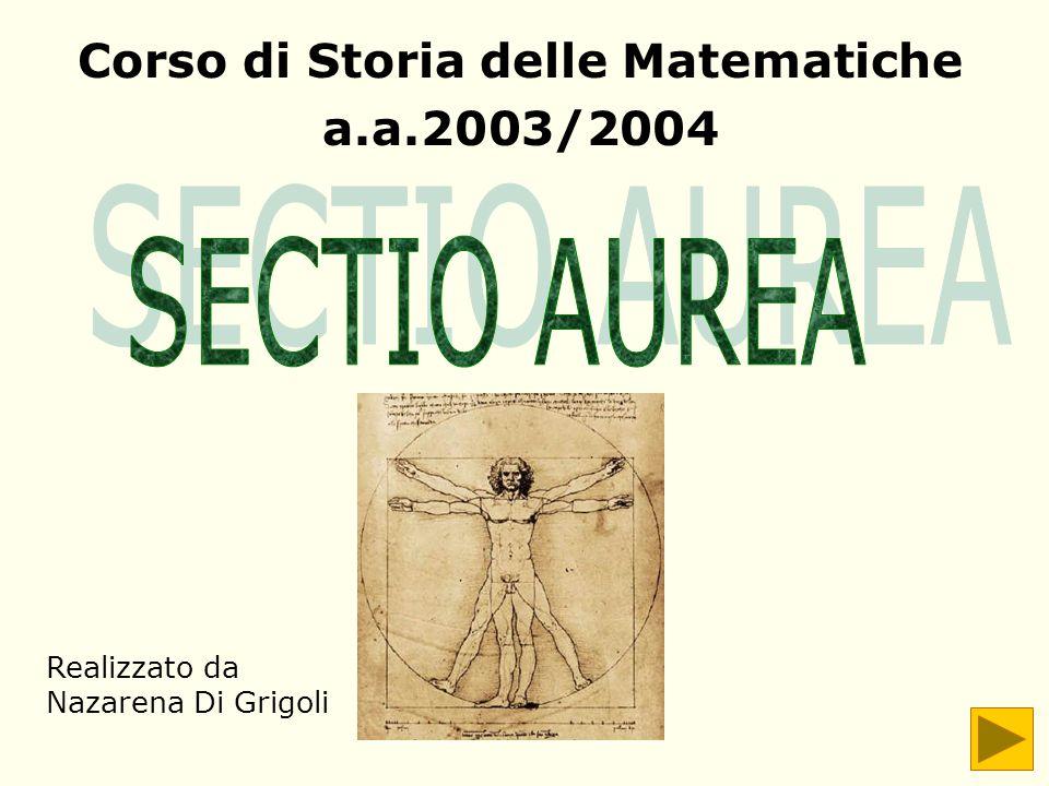Corso di Storia delle Matematiche a.a.2003/2004 Realizzato da Nazarena Di Grigoli