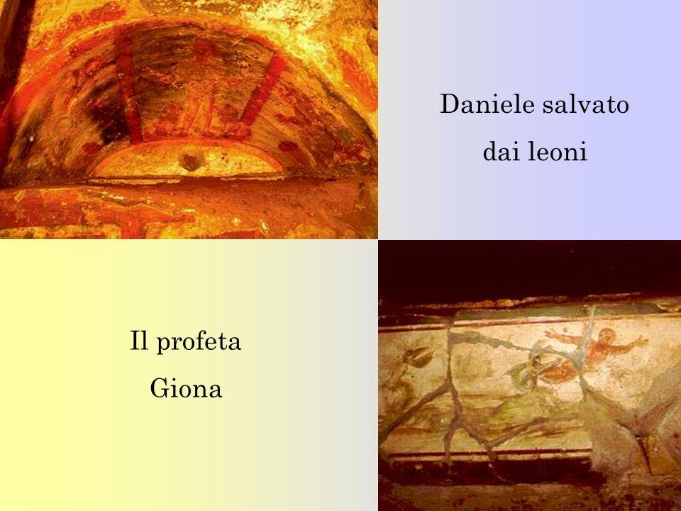 Daniele salvato dai leoni Il profeta Giona