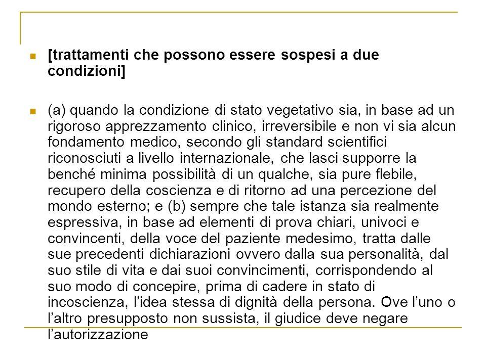 Tribunale Roma 2006: caso sig.
