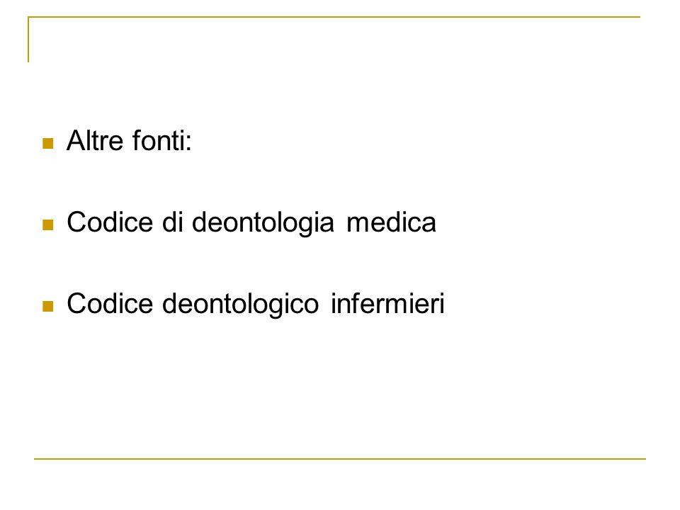 Codice deontologia medica (16.12.2006) Art.