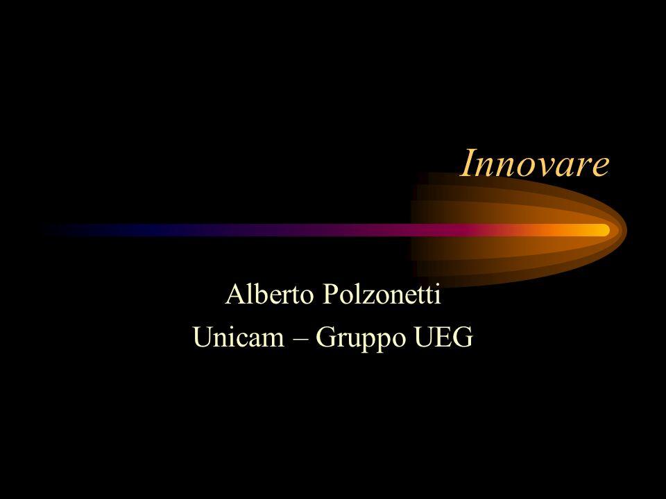 Innovare Alberto Polzonetti Unicam – Gruppo UEG