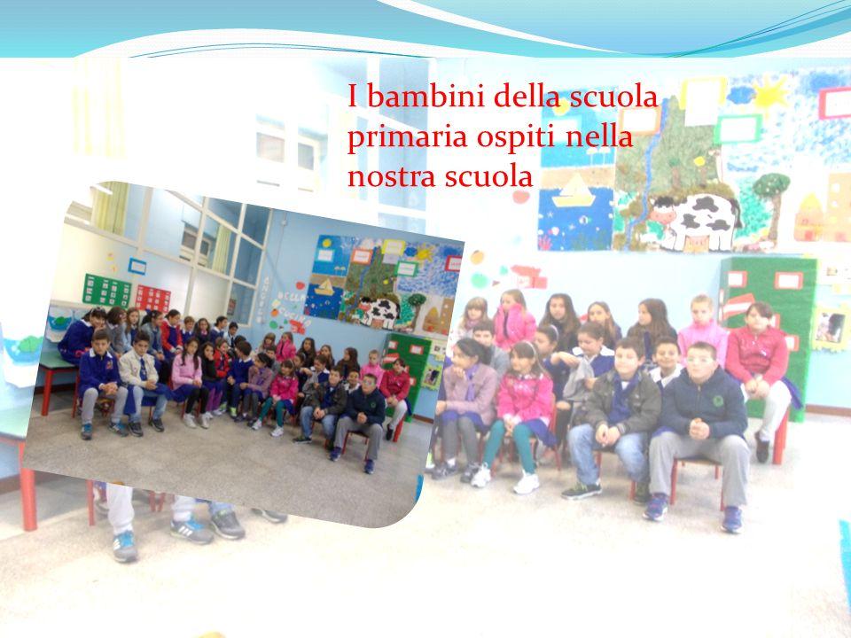 I bambini della scuola primaria ospiti nella nostra scuola