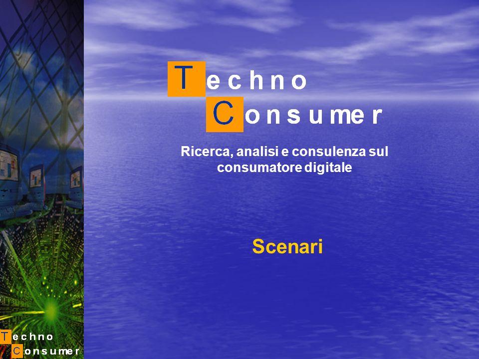 Ricerca, analisi e consulenza sul consumatore digitale Scenari