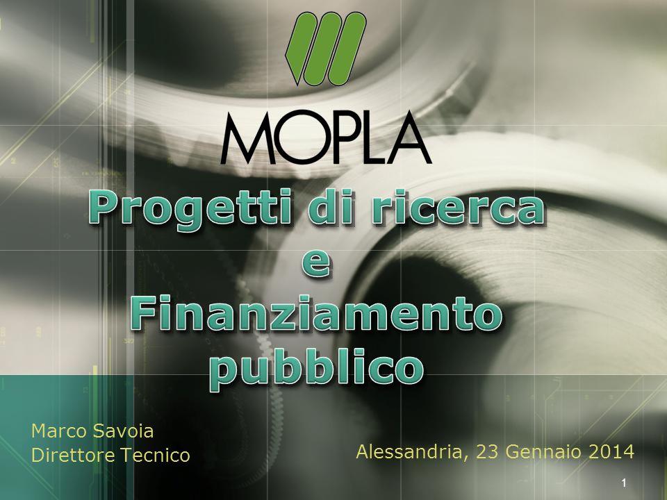 LOGO Marco Savoia Direttore Tecnico Alessandria, 23 Gennaio 2014 1