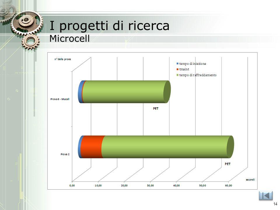 I progetti di ricerca Microcell 14
