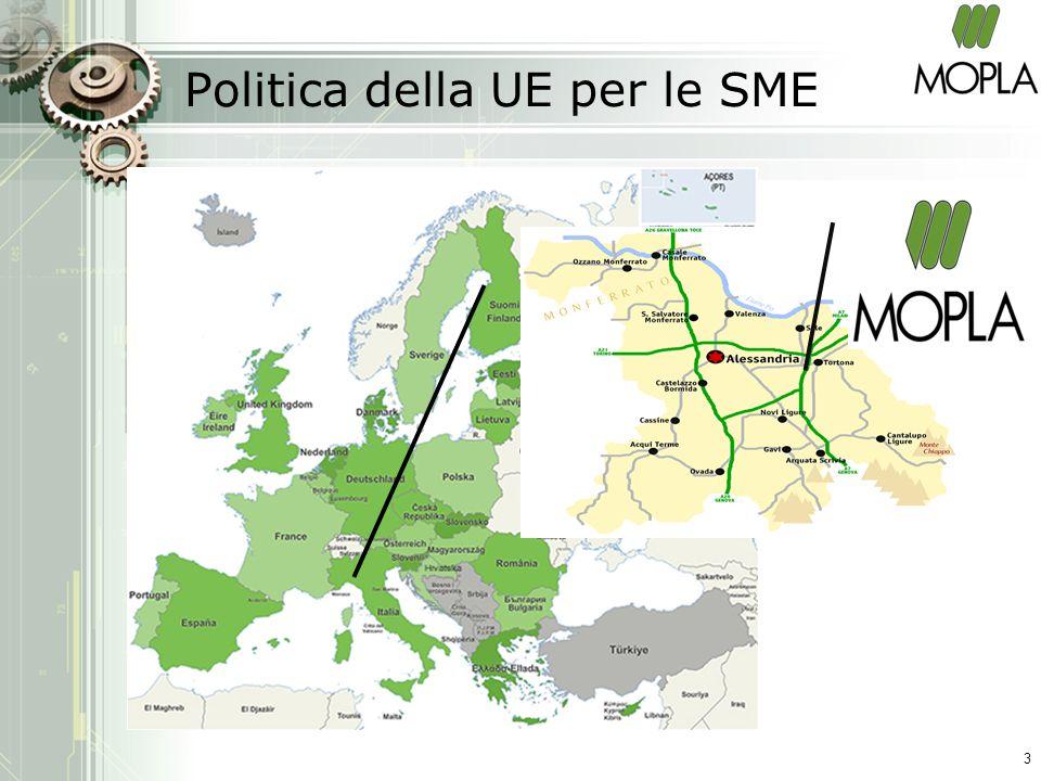 Politica della UE per le SME 3