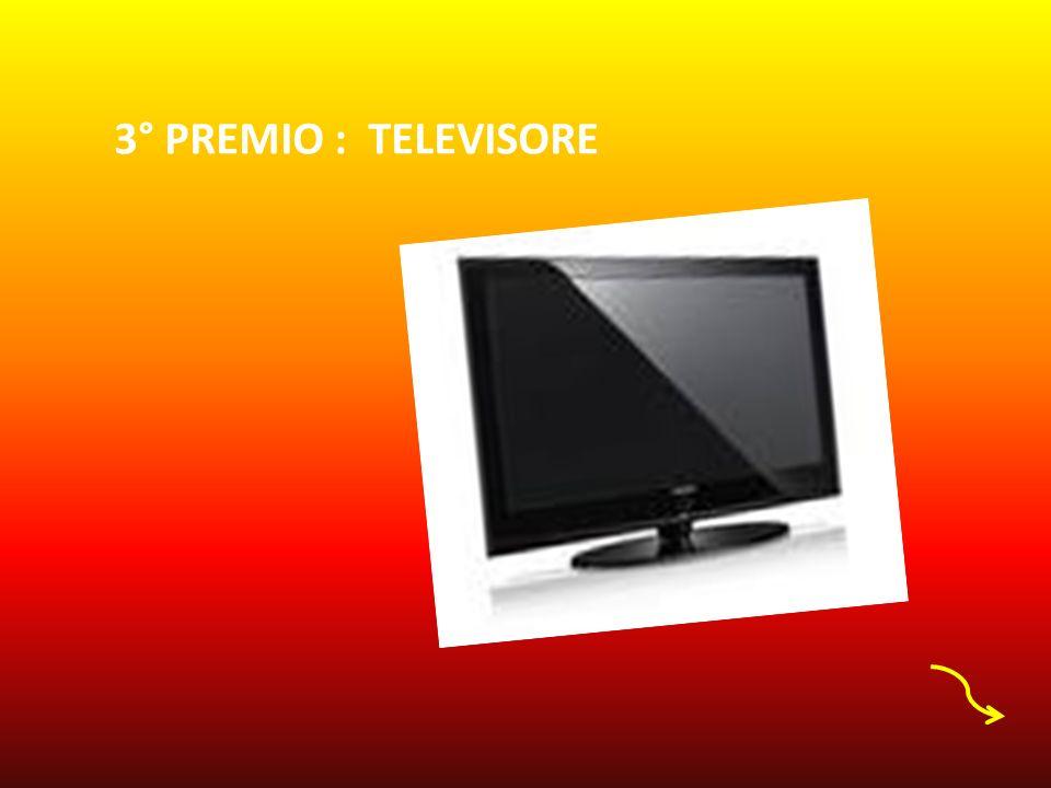 3° PREMIO : TELEVISORE