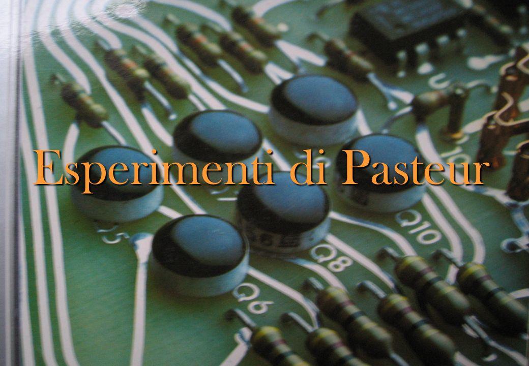 1864 d.c. louis pasteur (1822-95) mise appunto degli esperimenti in