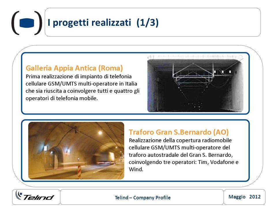 Maggio 2012 Telind – Company Profile I progetti realizzati (1/3)