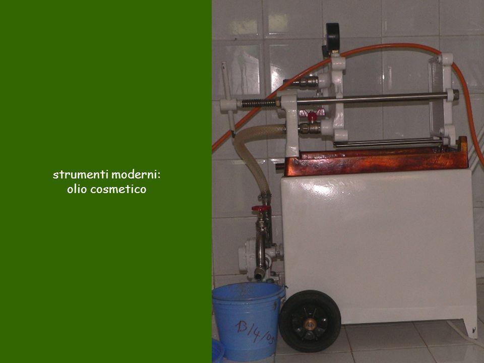strumenti moderni: olio cosmetico