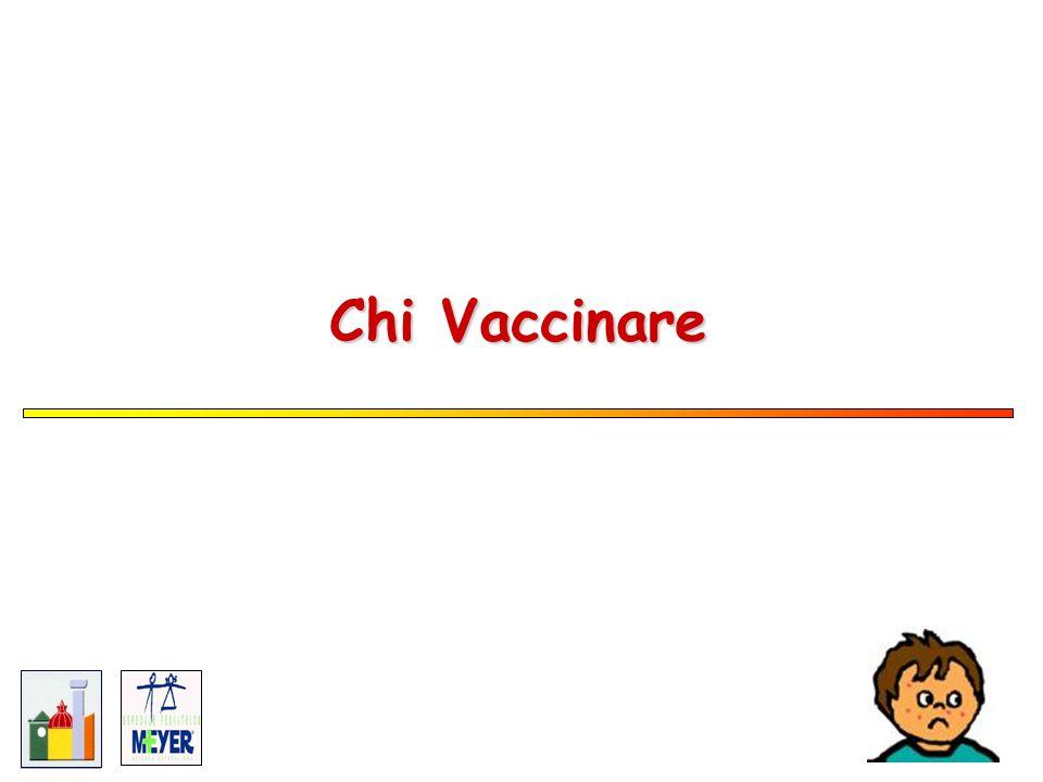 Chi Vaccinare