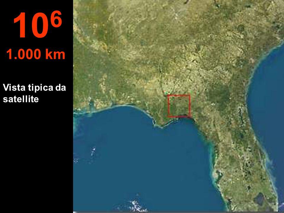 Vista tipica da satellite 10 6 1.000 km