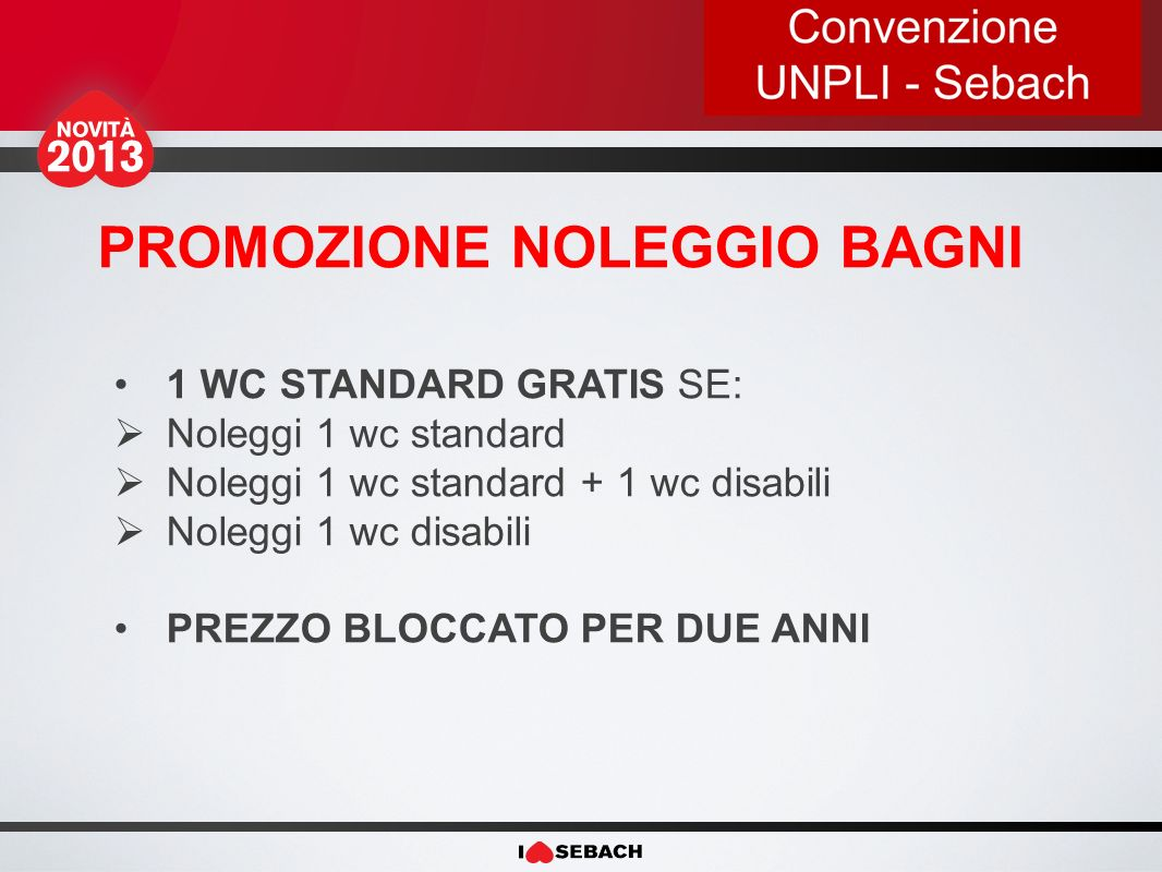 PROMOZIONE NOLEGGIO BORDER SCONTO DEL 10 % SU LISTINO