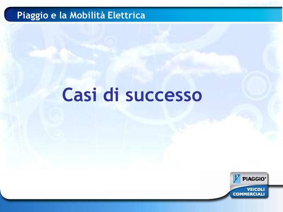 Piaggio e la Mobilità Elettrica Casi di successo