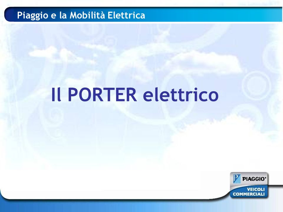 AEROPORTI AENA sceglie PIAGGIO Piaggio Porter Electric Power e Piaggio Mp3 Hybrid per sperimentare l impiego di veicoli elettrici e ibridi negli aeroporti spagnoli