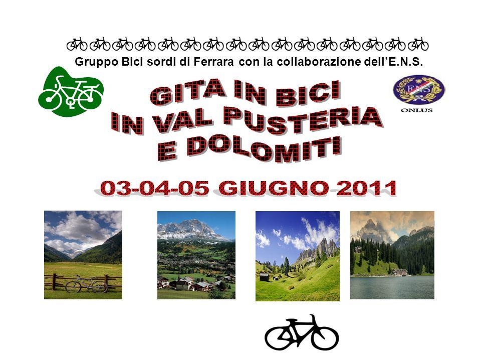 Gruppo Bici sordi di Ferrara con la collaborazione dellE.N.S.