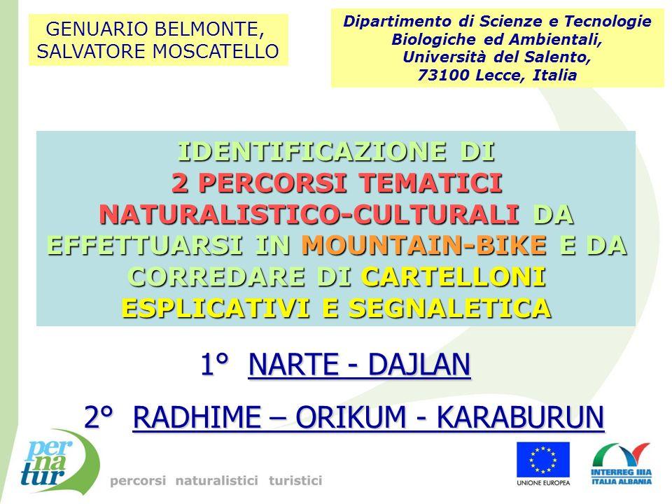 Grazie allUniversità di Vlorë per il Sostegno, la Collaborazione, lOspitalità e lAmicizia