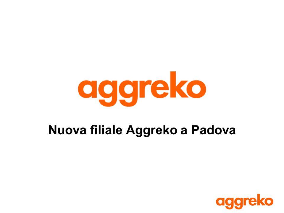 Aggreko e il Triveneto Dopo unaccurata analisi del mercato del noleggio di gruppi elettrogeni e gruppi frigoriferi sul territorio nazionale, Aggreko decide di aprire la nuova filiale del nord-est.