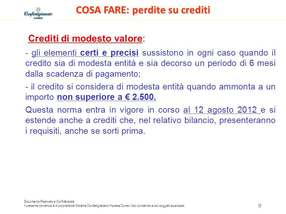Documento Riservato e Confidenziale Il presente contenuto è di proprietà del Sistema Confartigiananto Imprese Cuneo.