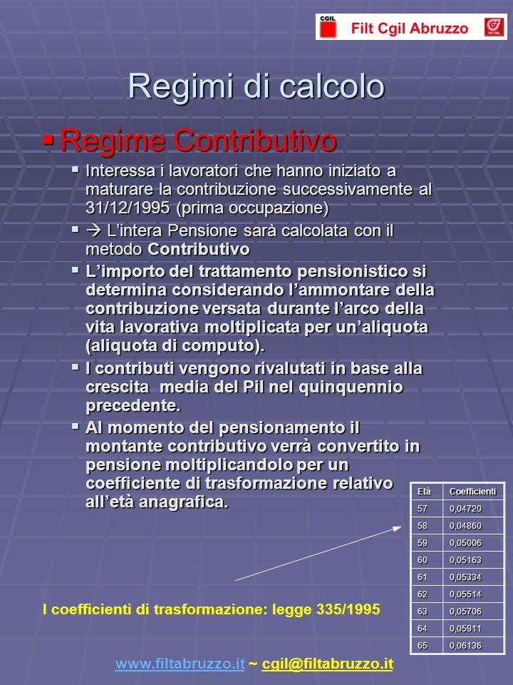 CASO B) Lavoratore dipendente con prima occupazione antecedente al 29 Aprile 1993 Aziende con più di 50 dipendenti: Fondo di tesoreria presso lInps.