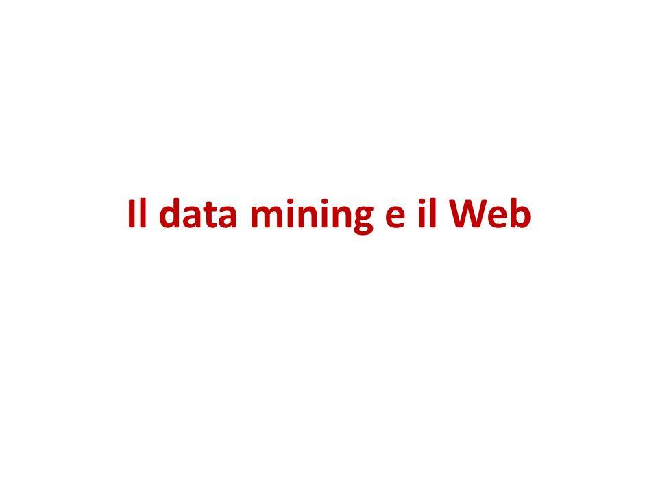 Il data mining e il Web