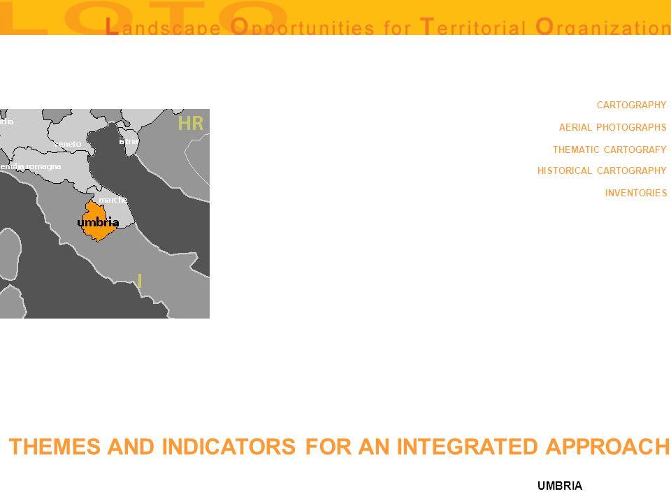 UMBRIA HISTORICAL MAPS: (1584, PERUGINI AGRI: EXACTISSIMA NOVISSIMAQUE DESCRIPTIO DI EGNATIO DANTE, RAPPRESENTAZIONE PROSPETTICA DEL TERRITORIO PERUGINO DATATA 1584, A COLORI, CM47X33) sources: surface area of territory covered: copertura territorio perugino availability of databanks: availability in digital format: fogli 1:100000 degree of accessibility (high, average, low): medio-basso BACK