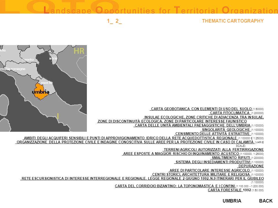 UMBRIA THEMATIC CARTOGRAPHY _ CARTA GEOBOTANICA CON ELEMENTI DI USO DEL SUOLO _ CARTA GEOBOTANICA CON ELEMENTI DI USO DEL SUOLO (1:50000) _ CARTA FITO