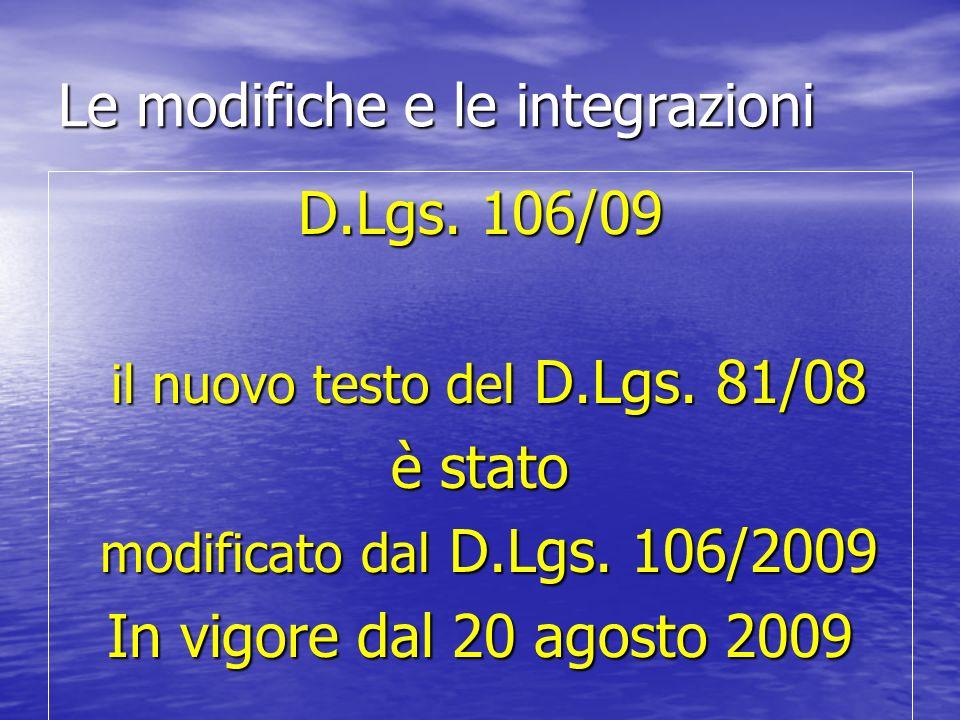 D lgs 106 09