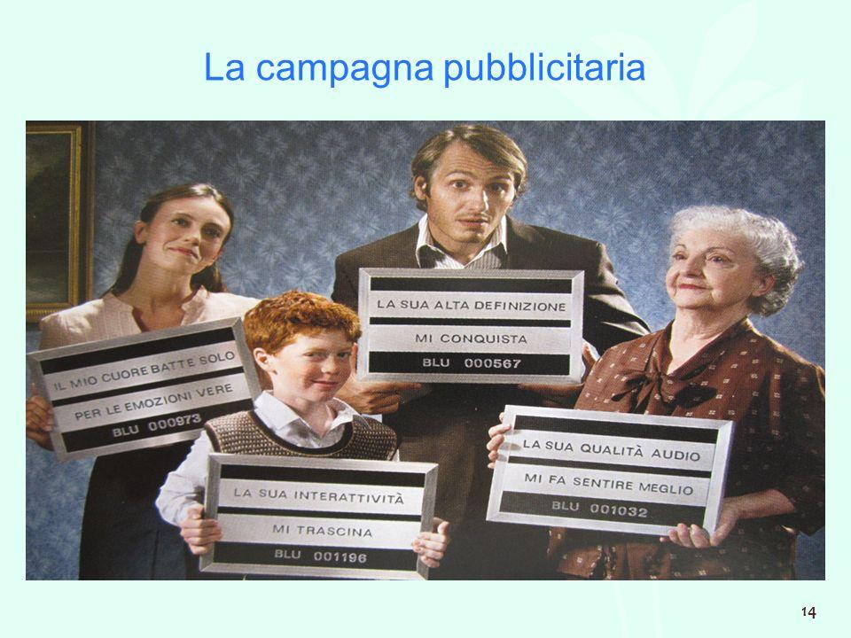 La campagna pubblicitaria 14