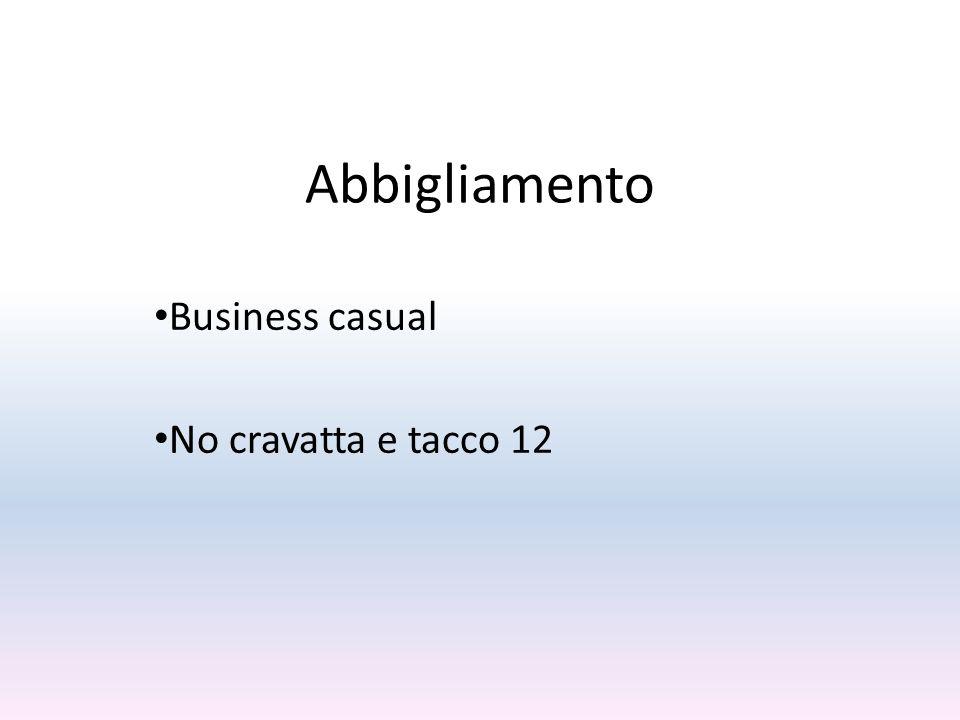 Abbigliamento Business casual No cravatta e tacco 12