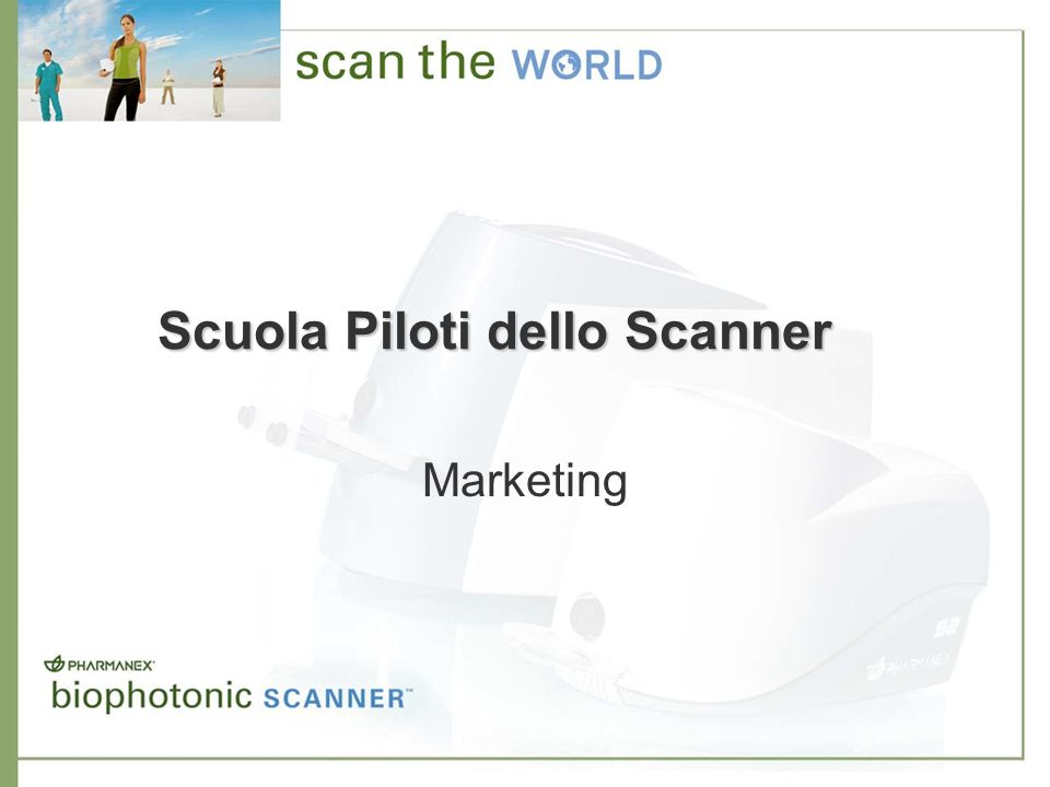 Scuola Piloti dello Scanner Marketing