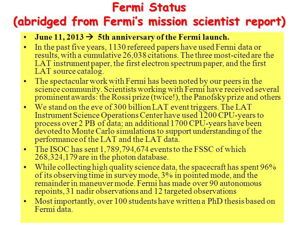 Summary of PAMELA results