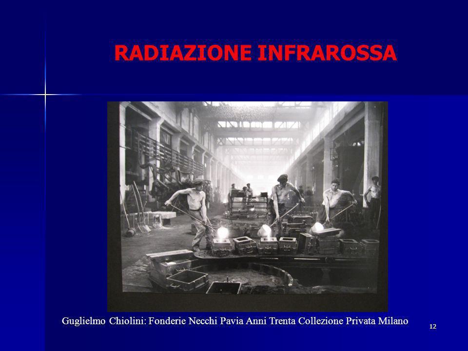 RADIAZIONE INFRAROSSA 12 Guglielmo Chiolini: Fonderie Necchi Pavia Anni Trenta Collezione Privata Milano