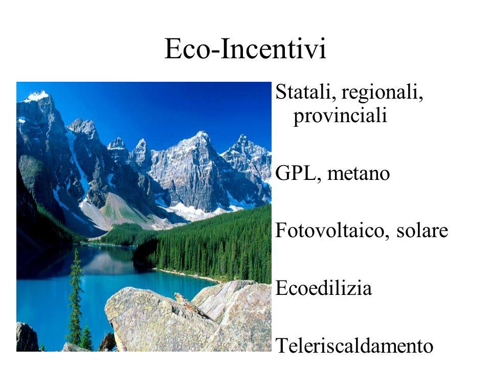 Rifiuti -Raccolta differenziata -Meno risorse da estrarre = meno impatto ambientale -Si rinnovano le risorse