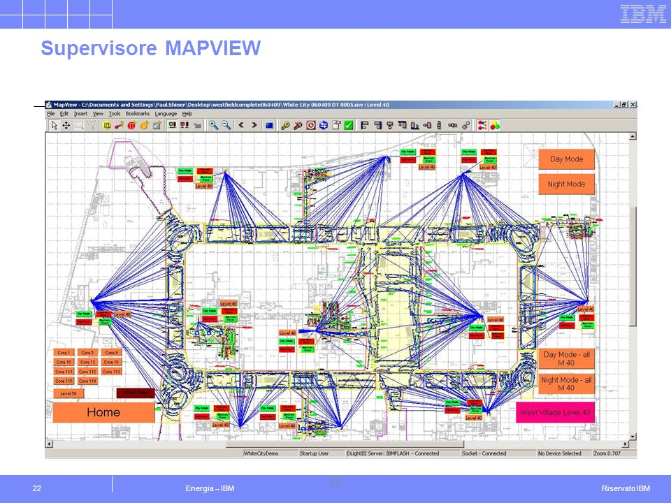 Riservato IBM Energia – IBM22 Supervisore MAPVIEW