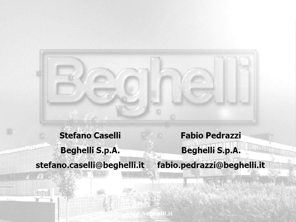 Fabio Pedrazzi Beghelli S.p.A. fabio.pedrazzi@beghelli.it Stefano Caselli Beghelli S.p.A. stefano.caselli@beghelli.it
