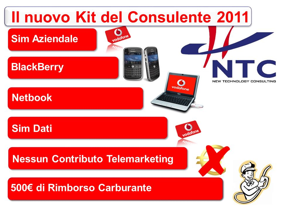 BlackBerry Netbook Sim Dati …A grande richiesta Sim Aziendale 500 di Rimborso Carburante Il nuovo Kit del Consulente 2011 Nessun Contributo Telemarketing