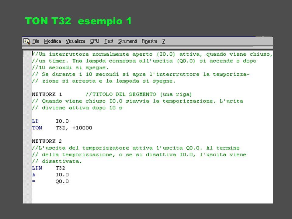 TON T32 esempio 1