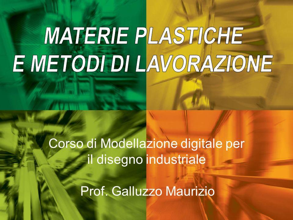 Corso di Modellazione digitale per il disegno industriale Prof. Galluzzo Maurizio