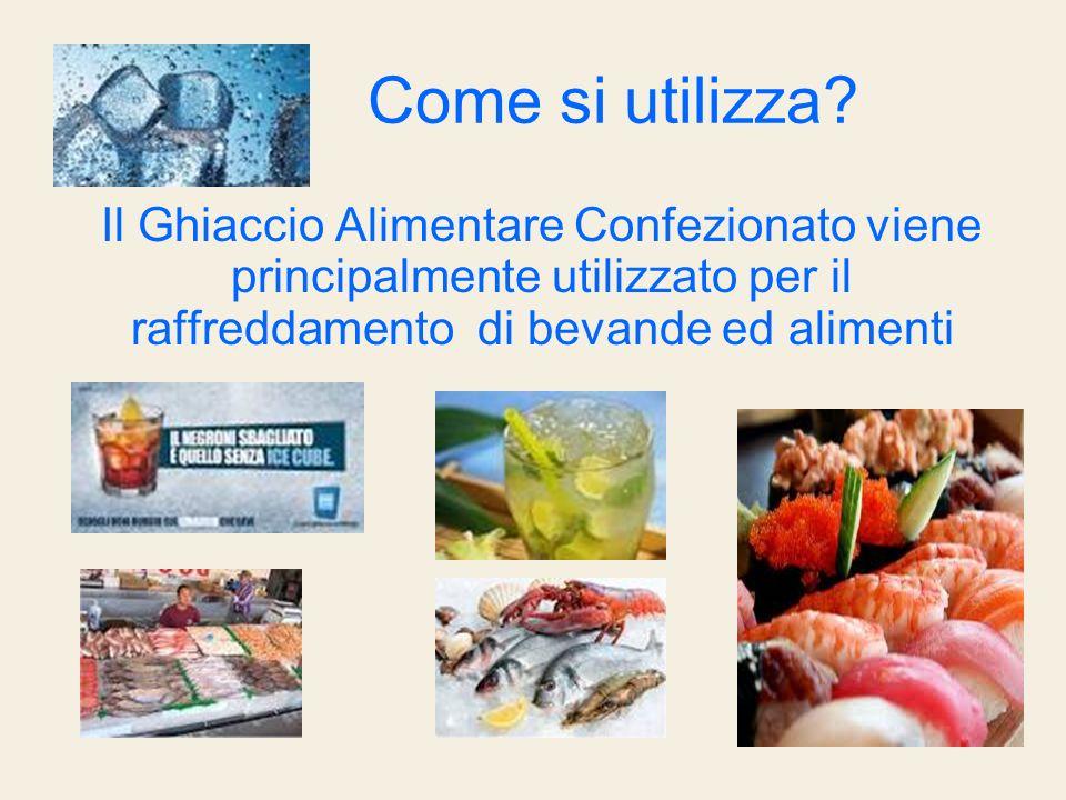 Ghiaccio Tritato/ Crushed: Pesce fresco Frutta e verdura Gastronomia Succhi e bevande