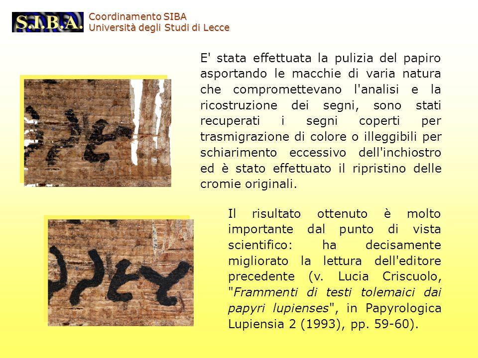 Il risultato ottenuto è molto importante dal punto di vista scientifico: ha decisamente migliorato la lettura dell'editore precedente (v. Lucia Criscu