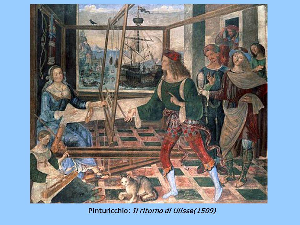 Pinturicchio: Il ritorno di Ulisse(1509)