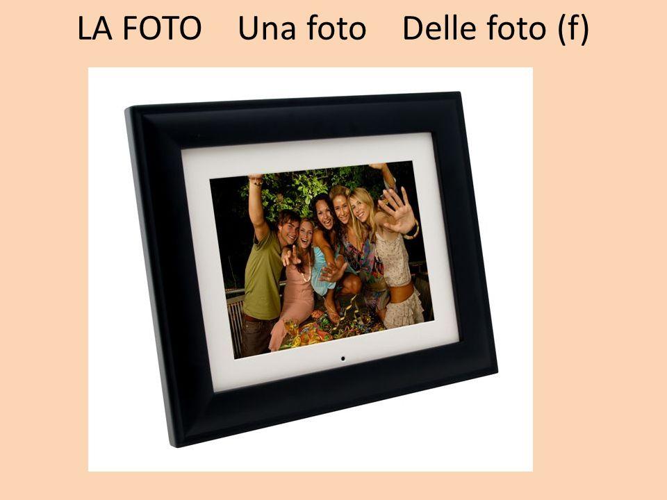 LA FOTO Una foto Delle foto (f)