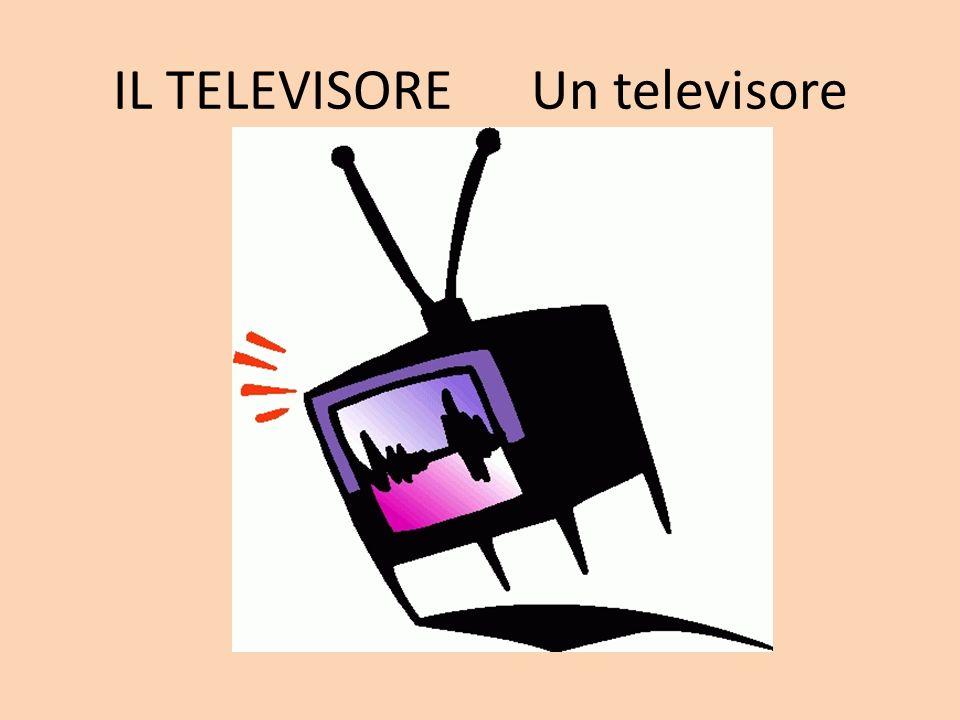IL TELEVISORE Un televisore
