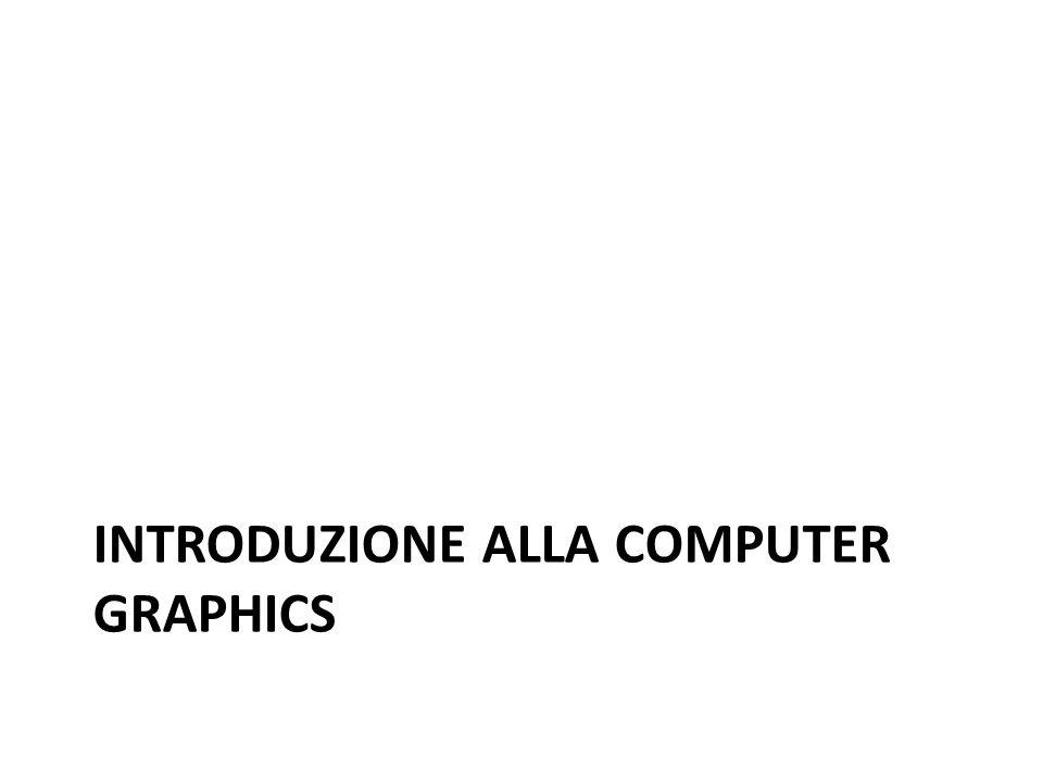 INTRODUZIONE ALLA COMPUTER GRAPHICS