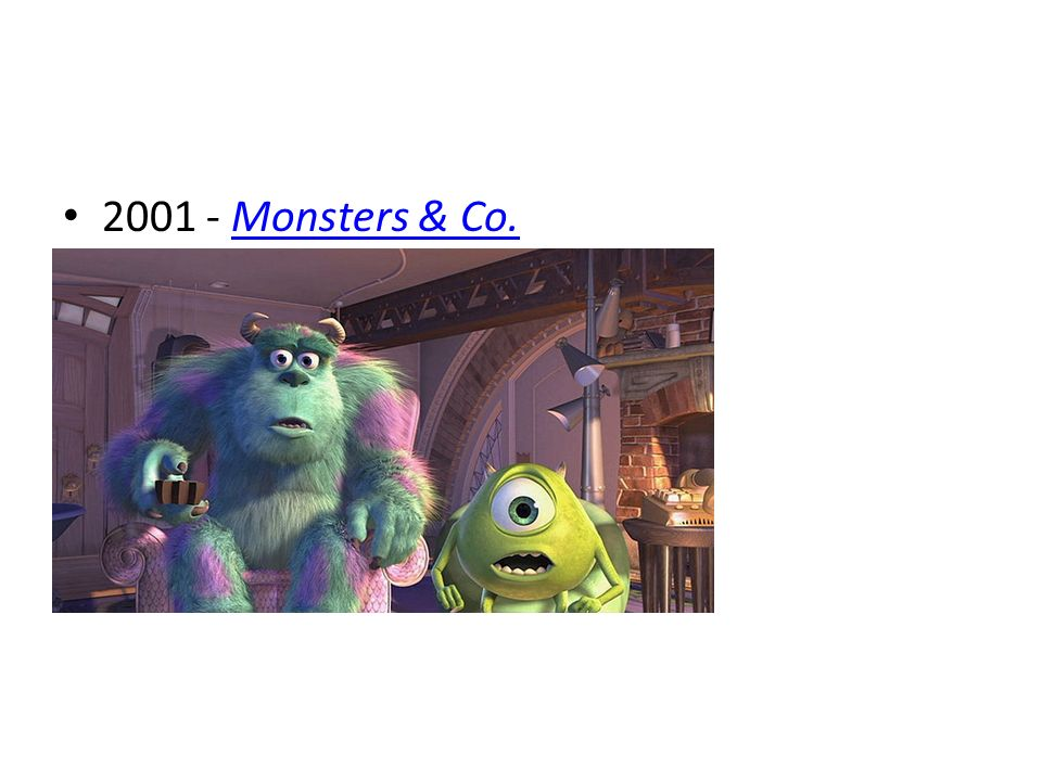 2001 - Monsters & Co.Monsters & Co.