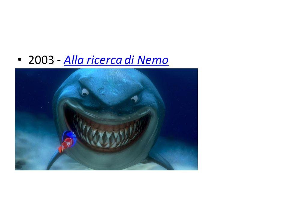 2003 - Alla ricerca di NemoAlla ricerca di Nemo