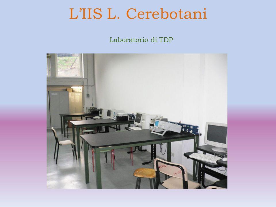LIIS L. Cerebotani Laboratorio di informatica
