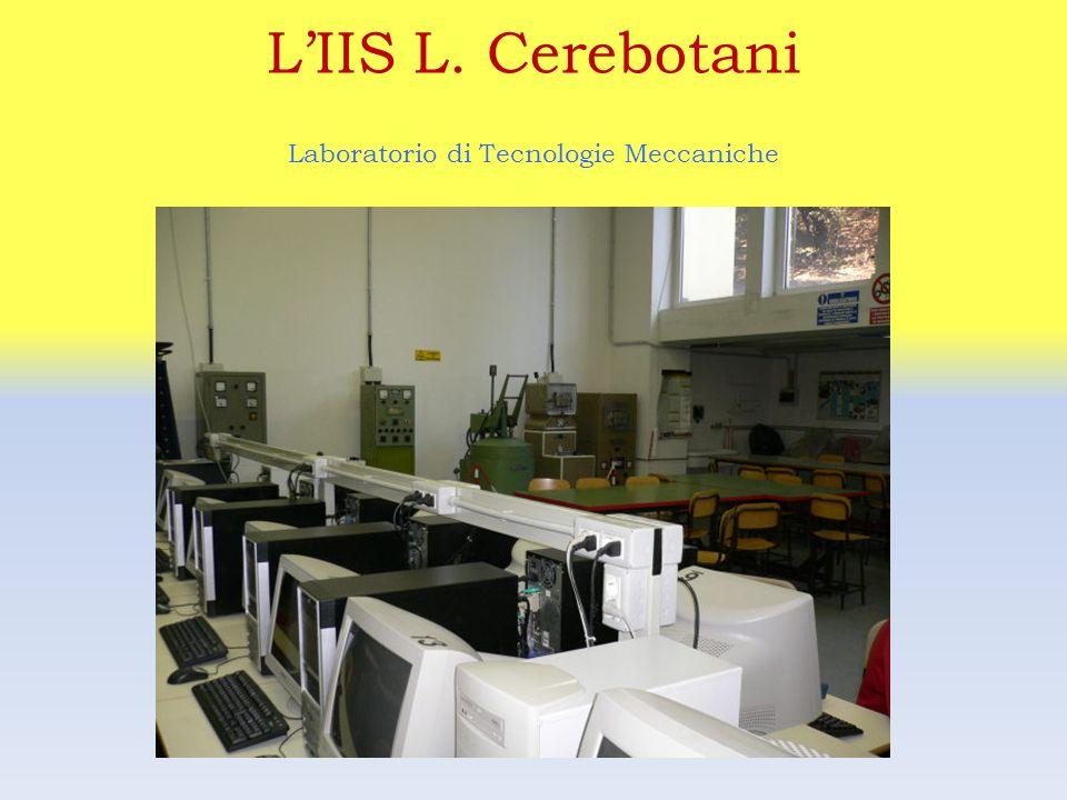 LIIS L. Cerebotani Laboratorio di TDP